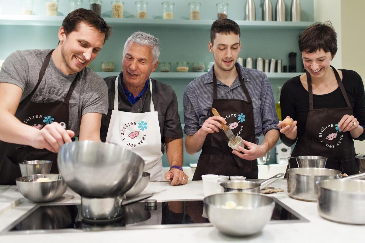 Trouver un bon cours de cuisine toutpourlesfemmes for Atelier de cuisine