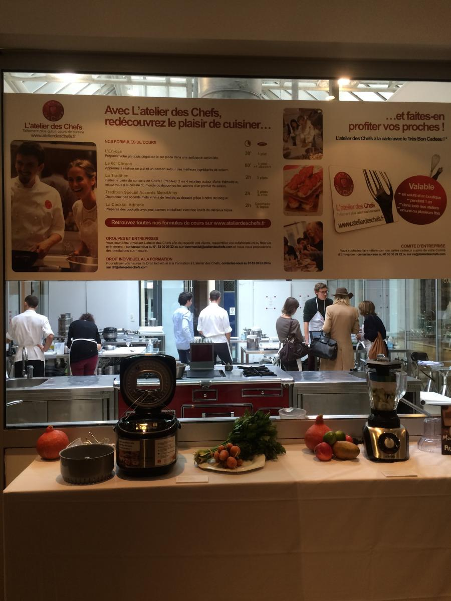 Trouver un bon cours de cuisine toutpourlesfemmes - Cours de cuisine l atelier des chefs ...