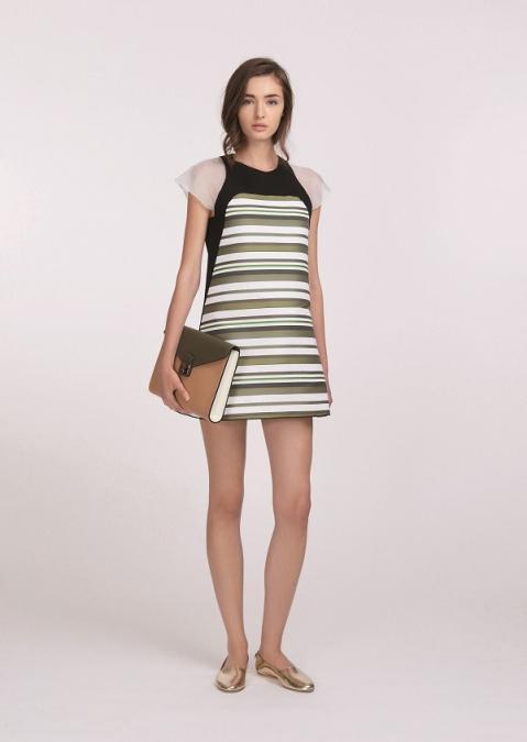 look printemps 2016 robe ballerines et pochette longchamp. Black Bedroom Furniture Sets. Home Design Ideas