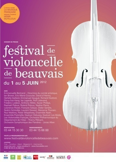 Mstislav Rostropovitch & les 11e Rencontres d'ensembles de violoncelles