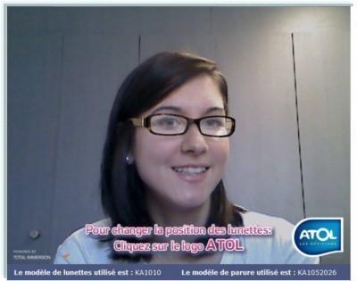 2866e4ad7b Atol, premier opticien à proposer l'essayage de lunettes en 3D sans réglages