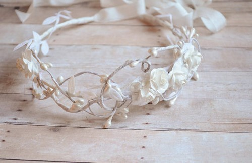 Bridal Wedding Headpiece4 by Bellafaye Garden, on Flickr