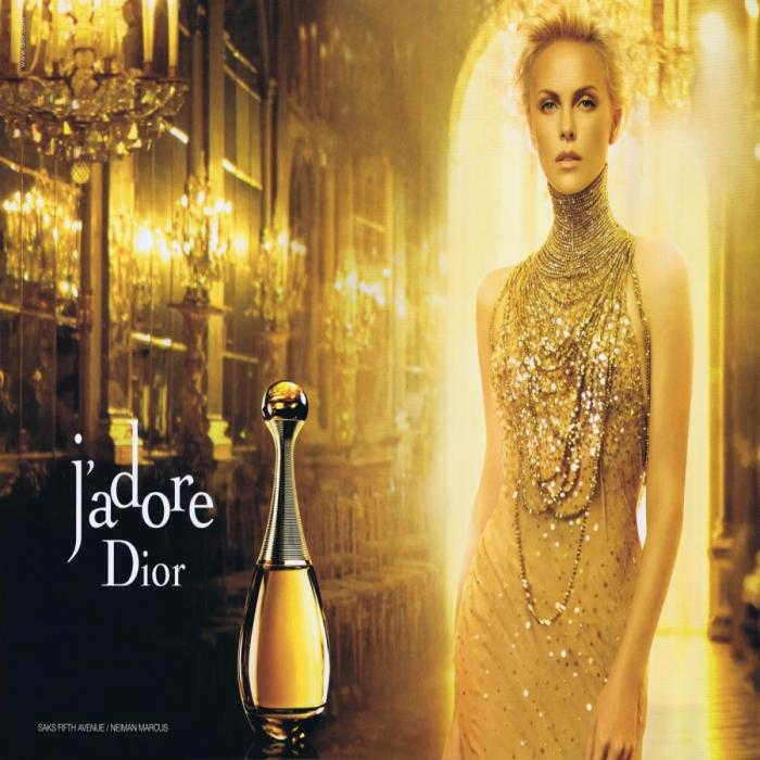 charlize theron et dior
