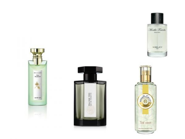 L Eau parfumée au Thé Vert de Bulgari - Tea for Two de L Artisan Parfumeur  - Thé Vert de Roger Gallet - Menthe Fraîche de Heeley - Quel parfum au thé  pour ... 35947c06d6d