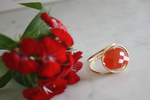 La bague Grand Regard interchangeable de Paola Zovar