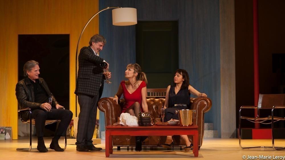 Critique th tre l 39 envers du d cor de florian zeller for Decor de theatre